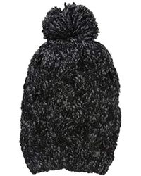 Laundry by Shelli Segal - Boucle Slouchy Beanie - Lyst