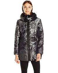 Desigual - Coat Black 26 - Lyst