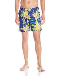 Original Penguin - Psychedelic Palm Printed Fixed Volley - Lyst