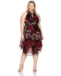 4a93a625d21 Lyst - RACHEL Rachel Roy Plus Size Fringed Midi Wrap Dress in Blue