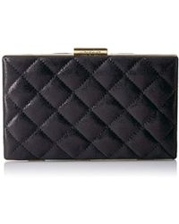 a4bdb3a334 Calvin Klein Sculpted Lg Ew Clutch Black in Black - Lyst
