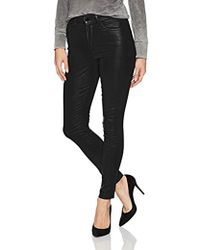 Joe's Jeans - Charlie High Rise Coated Skinny Ankle Jean - Lyst