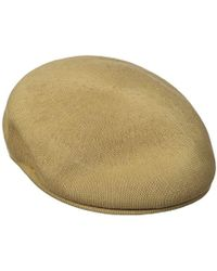 957dfc3d6aa Lyst - Kangol Bamboo 7100 Over Sized Ivy Cap in Green for Men - Save 4%