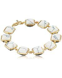 """Noir Jewelry - Milano Inside Out Bracelet, 8"""" - Lyst"""