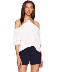7b96bd9758 Beach Lunch Lounge Natalia Bell Tie Sleeve Plaid Print Flannel Shirt ...