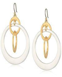Lucky Brand - Orbital Drop Earrings - Lyst