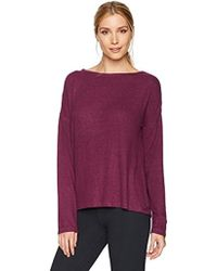 Betsey Johnson - Strappy Ladder Back Cutout Ls Tee - Lyst