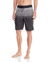 Kenneth Cole - Kenneth Cole Ny Horizon Stripe Volley Short - Lyst