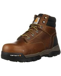 Carhartt - Ground Force 6 Composite Toe (peanut Oil Tan Leather) Men's Work Boots - Lyst