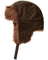Ben Sherman - Wool Tweed Trapper - Lyst