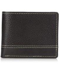 Buxton - Monroe Rfid Blocking Front Pocket Slimfold Slim Wallet - Lyst