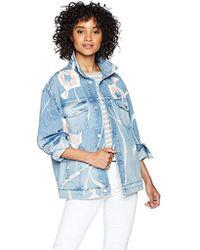 Hudson Jeans - Bandit Trucker Jean Jacket - Lyst