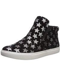 efce5df13cae2 Lyst - Ash Lifting Crystal Slip-on Sneakers in Black