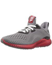 22c22b69b Lyst - adidas Alphabounce Em U Running Shoe in Gray for Men