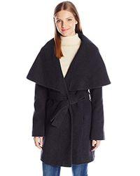 T Tahari - Marla Wool Coat With Oversized Collar New Name: Marylin - Lyst