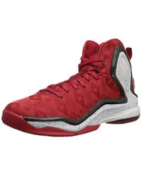 61415574ba4d Lyst - adidas Performance D Rose 5 Boost Basketball Shoe in Red for Men