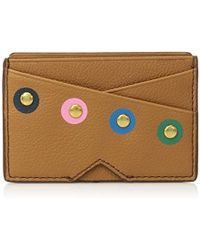 Fossil - Leather Card Case Wallet - Lyst