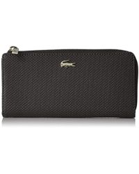 Lacoste - Chantaco Slim Zip Wallet - Lyst