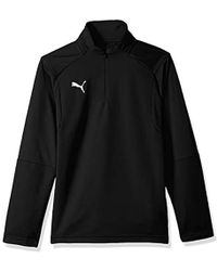 PUMA - Liga Training 1/4 Zip Top Jr - Lyst