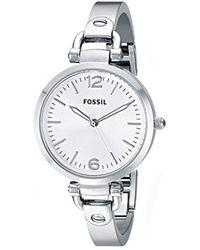 Fossil - Georgia Watch Es3083 - Lyst