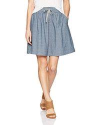 Alternative Apparel - Chambray Skater Skirt - Lyst