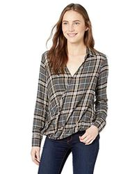 Bailey 44 Wipe Out Plaid Top - Multicolor