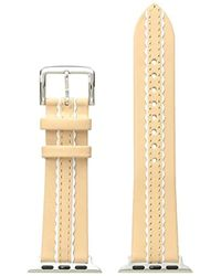 Kate Spade - Scalloped Leather Apple Watch Strap - Lyst