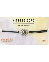 ALEX AND ANI - S Cosmic Love Kindred Cord Bracelet - Lyst