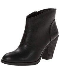 8ea0e815998 Jessica Simpson Zamia Ankle Bootie in Black - Lyst