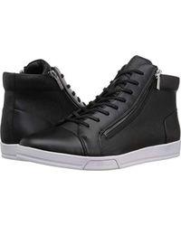 Calvin Klein - Berke Brushed Leather Sneaker - Lyst