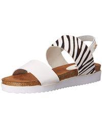 N.y.l.a. - . Mollie Platform Sandal - Lyst