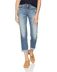 Signature by Levi Strauss & Co. Gold Label - Mid Rise Slim Boyfriend Jeans - Lyst