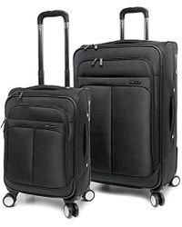 Perry Ellis - 2 Piece Prodigy Lightweight Luggage Set - Lyst