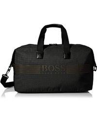 BOSS - Pixel_holdall 100% Polyamide Travel Bag Bags - Lyst