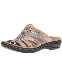6039f575d40f Lyst - Women s Clarks Flat sandals On Sale