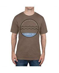 e229098a5 O neill Sportswear - Watermark Tshirt - Lyst