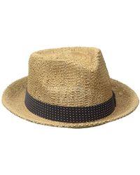 42dd74f8 Brixton Field Wide Brim Felt Fedora Hat in Green for Men - Save 13% - Lyst