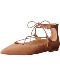Sam Edelman Rosie Pointed-toe Flat - Brown