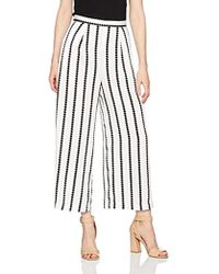 Finders Keepers - Windsor Highwaisted Wide Leg Striped Culotte - Lyst