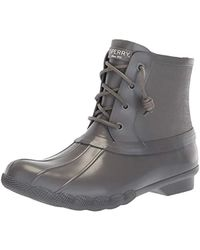 7e7c599298c7 Sperry Top-Sider - Saltwater Rubber Flooded Rain Boot - Lyst