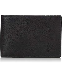 Buxton - Tulsa Rfid Blocking Leather Front Pocket Slimfold Wallet - Lyst