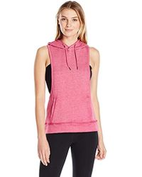 Steve Madden - Dropped Armhole Hoodie With Back Cutouts - Lyst