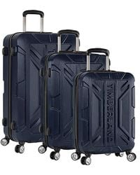17859b1f6e0 Timberland 3 Piece Hardside Spinner Luggage Set in Blue for Men - Lyst