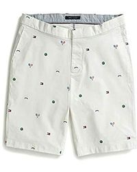 7f94a0c99b Tommy Hilfiger - Adaptive Seated Fit Tennis Shorts With Elastic Waist Velcro  Closure - Lyst