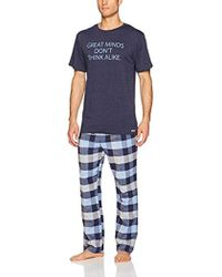 Kenneth Cole Reaction - Jersey And Brushed Flannel Gift Set, - Lyst