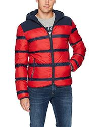 ed3c1376 Lyst - Tommy Hilfiger Tommy Jeans Down Jacket With Faux Fur Hood in ...