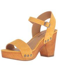 Lucky Brand - Trisa High Heel Heeled Sandal - Lyst