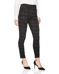 Ivanka Trump - Pull-on Faux Pocket Straight Leg Ponte Pants - Lyst