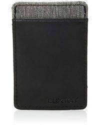 Buxton - Hooke's Rfid Flex Pull Card Case Tab Wallet - Lyst