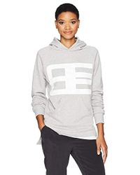 Baja East - Logo Sweatershirt Tunic - Lyst